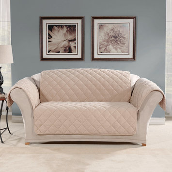Sure Fit Micro Fleece Loveseat Furniture Protector
