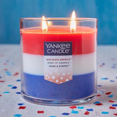 Yankee Candle Americana 12.5-oz. Tri-Pour Candle Jar, Multicolor
