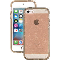 Speck - Candyshell Clear Back Cover For Apple Iphone 5, 5s And Se - Clear, Glitter Gold