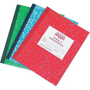 School Smart Skip-A-Line Composition Book - Grade 1, 50 sheets, Green Cover