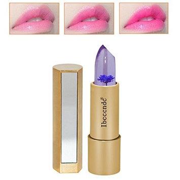 RNTOP Magic Jelly Flower Lipstick Color Temperature Change Moisturizer Bright Lip Balm