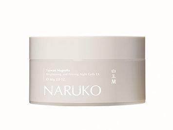 Naruko Taiwan Magnolia Brightening and Firming Night Jelly EX 80g Jumbo Size