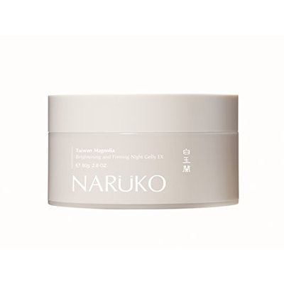 Naruko Taiwan Magnolia Brightening and Firming Night Jelly EX 80g Jumbo Size