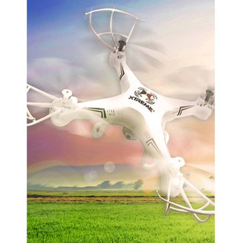 Etcbuys White XFlyer Aerial Quadcopter with HD Camera