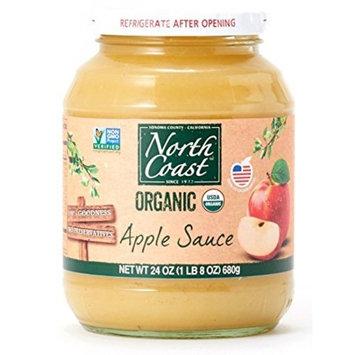 North Coast Organic Apple Sauce 24 oz (Pack of 2)
