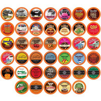 Two Rivers Holiday Flavor Single-Cup Sampler Pack for Keurig K-Cup Brewers, 40 Count [Holiday Flavors]