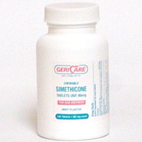SIMETHICONE TABS 80MG CHEWABLE (BT)