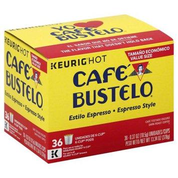 Cafe Bustelo Café Bustelo Espresso Coffee Keurig K-Cups - 36ct
