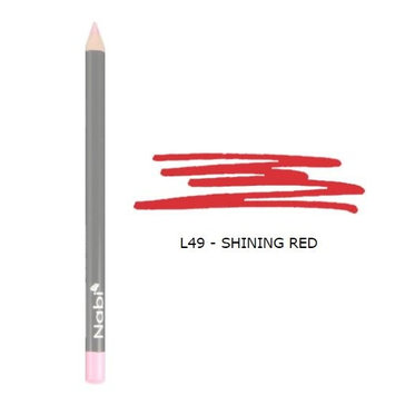 (6 Pack) Nabi Cosmetics Lip Pencil - Shining Red : Beauty