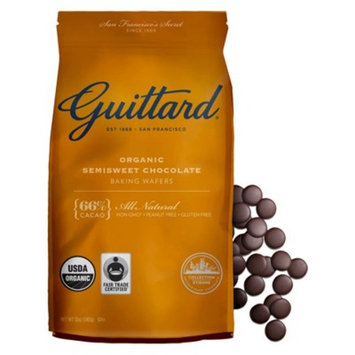 Guittard® Organic Semisweet Chocolate Baking Wafers 12oz
