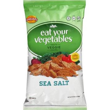 Snikiddy Vegetable Chips, Sea Salt, 4.5 oz