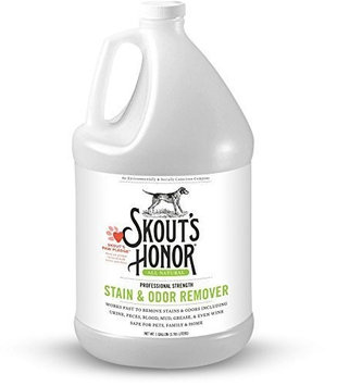 Skouts Honor Professional Strength Pet Stain Odor Remover 128-ounce Spray Bottle