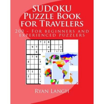Createspace Publishing SUDOKU Puzzle Book for Travelers: For beginners and experienced Sudoku puzzlers