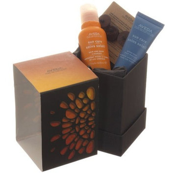 Aveda Follow The Sun Gift Sun Care Cleanser 1.7oz Suncare After Sun Masque 0.85 Kit