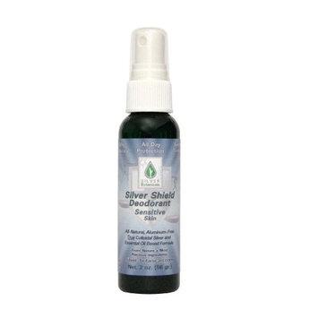 Silver Shield Deodorant - Sensitive Skin Formula - Spray-on, All Natural Colloidal Silver Deodorant,2 oz.