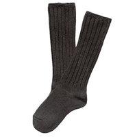 Lian LifeStyle Children 4 Pairs Knee High Cashmere Wool Socks Size 0-2Y (Dark Gray)