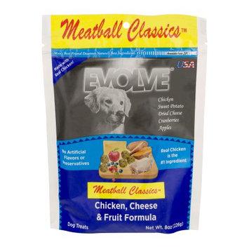 Sunshine Mill's Inc. Evolve Chicken, Cheese and Fruit Formula Meatball Dog Treats, 8 oz