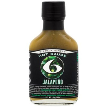 Jalapeno Hot Sauce (3.5 Ounces Liquid) by 6 Pack Fitness at the Vitamin Shoppe