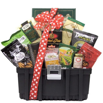 Great Arivals Gift Baskets 'Want to 'Tool' Around?' Valentine's Day Snack Gift Basket