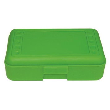 Romanoff Products, Inc. Romanoff Products ROM60215BN 8.5 x 5.5 x 2.5 in. Pencil Box Lime Opaque - 12 Each