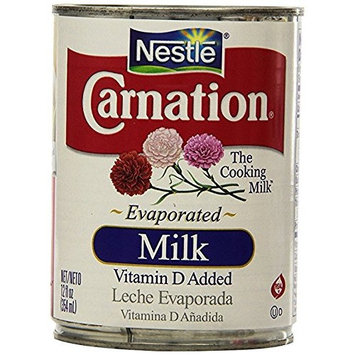 Nestlé Carnation Evaporated Milk 4Pack (12 oz Each) Hgkfks