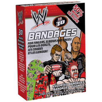 Ouchies Bandages ''WWE'' Adhesive, Box of 20