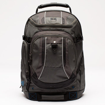 ful Free Load Factor Padded Laptop Backpack Black and Gray - ful Laptop Backpacks