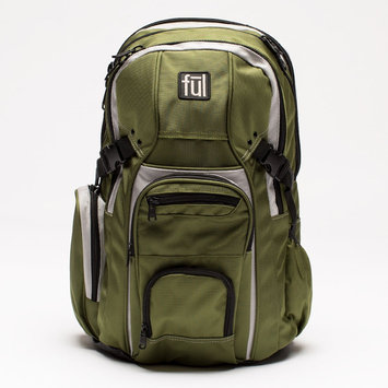 Ful 16.15 Hexar Backpack - Olive, Olive Tree