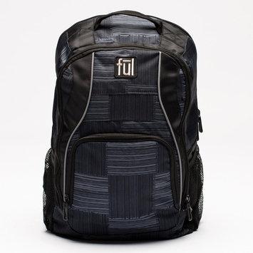 ful Dax Padded Laptop Backpack Black/Grey(019) - ful Business & Laptop Backpacks