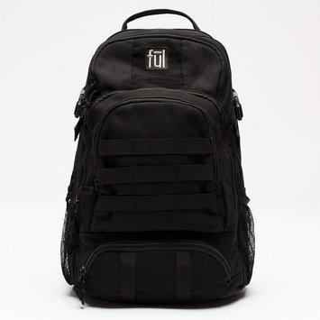 ful Elite Tactical Laptop Backpack Black - ful Business & Laptop Backpacks