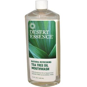 Desert Essence Tea Tree Oil Mouthwash 16 Fl Oz