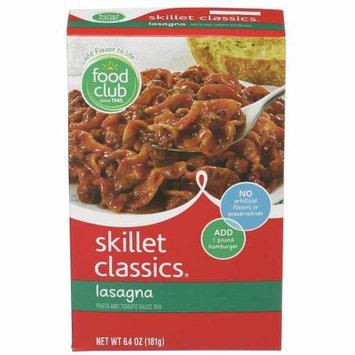 Food Club, Skillet Classics, Lasagna, Pasta And Tomato Sauce Mix (Pack of 10)