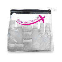 MIAMICA Clear for Take Off Clear Security Bag Kit