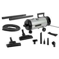 MetroVac Professional Evolution Variable Speed Compact Canister Vacuum (OV4SNBF-200CV), Grey