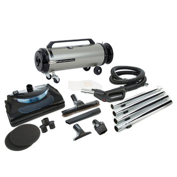 Metrovac Professional Evolution, Electric Power Nozzle 2-Speed Full-Size Canister Vacuum