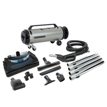 Metrovac Professional Evolution, Electric Power Nozzle Variable Canister Vacuum