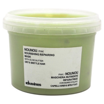 Nounou Nourishing Reparing Mask by Davines for Unisex - 2.5 oz Mask