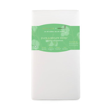 Infant Naturepedic X Rosie Pope Pure & Secure Sleep Crib Mattress, Size One Size - White