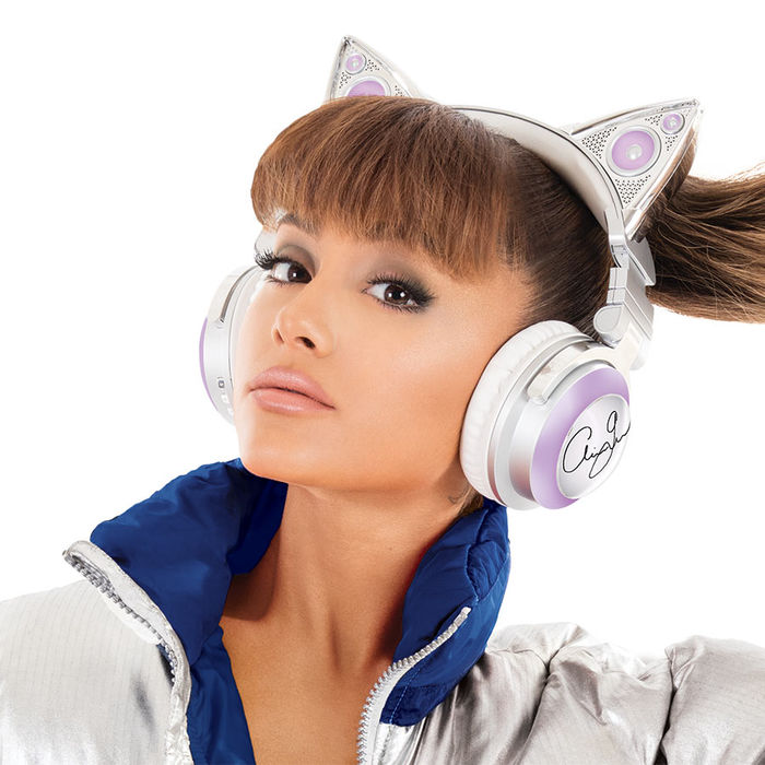 Limited Edition Ariana Grande Wireless Cat Ear Headphones