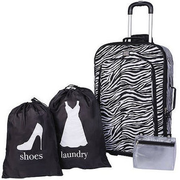 Protege 4Piece Luggage Set, Multiple Colors