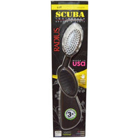 RADIUS, Scuba Toothbrush, Black, Soft, Right Hand, 1 Toothbrush