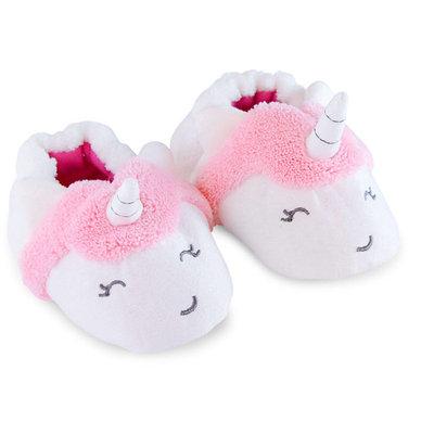 born Baby Girl Unicorn Slippers, NB
