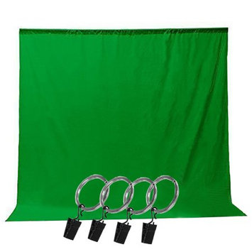 Limo Studio LimoStudio Photo Video Photography Studio 6x9ft Green Muslin Backdrop Background Screen with 5x Backdrop Holder Kit, LIWA58