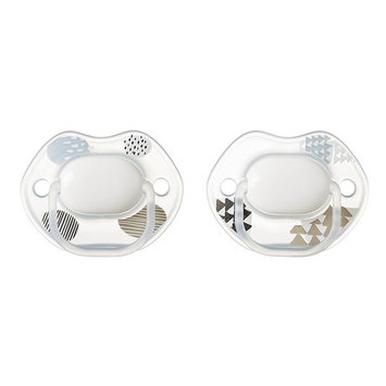 Tommee Tippee Street Smart Pacifier, 0-6 Months, 2 Count (Colors will vary)