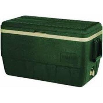 John Deere TS6006001WH52Q 52 qt Lit Cooler with Green & Yellow
