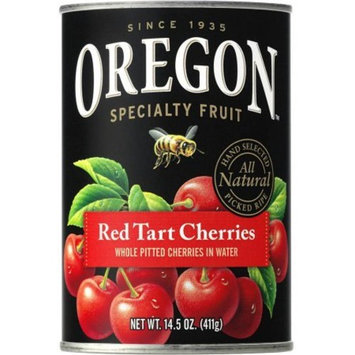 Oregon Fruit Produ cts Pitted Red Tart Cherries in Water 14.5 oz, one can