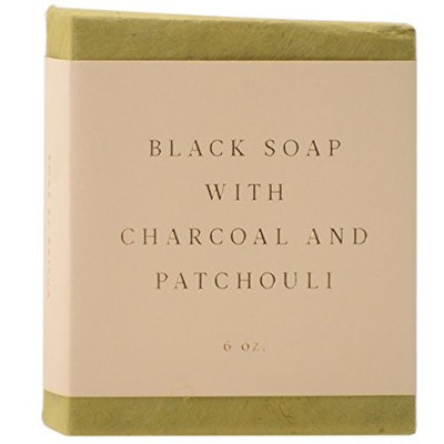 SAIPUA SOAPS Black Soap with Charcoal and Patchouli 6 oz