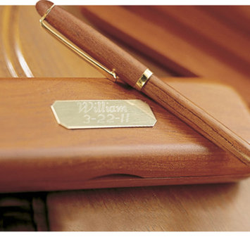 Jds Marketing & Sales, Inc. Personalized Rosewood Pen & Case