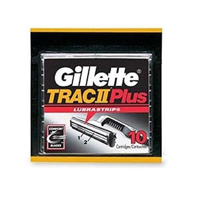 Gillette Trac II Plus Refill Razor Blades 10 ct.