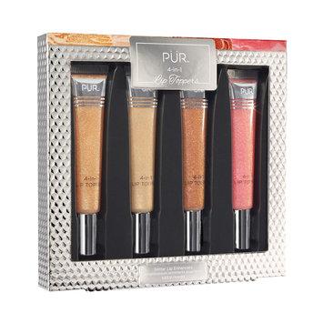 PUR 4-in-1 Lip Toppers Glittery Lip Gloss, Multicolor